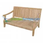 teak garden furniture Castle Love Seat