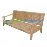teak garden furniture Castle Sofa