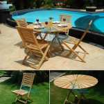 teak garden furniture Sun Table Garuda Folding Chair