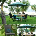 teak garden furniture Wicker Chair Modern Table
