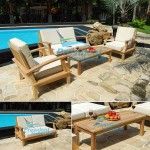 teak garden furniture Briana Love Seat Taunton Coffee Table
