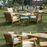 teak garden furniture Castle Chair Castle Coffee Table