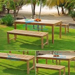 teak garden furniture Faxhall 140 Rectangular Table 150