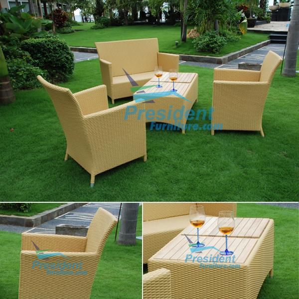teak garden furniture Wiker Chair Wiker Table
