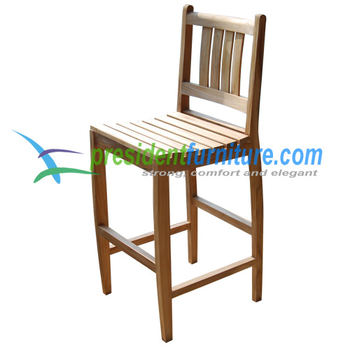 teak garden furniture Bahama Bar Chair