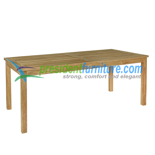 teak garden furniture Fix Table 180x90