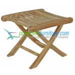 teak garden furniture Foot Stool