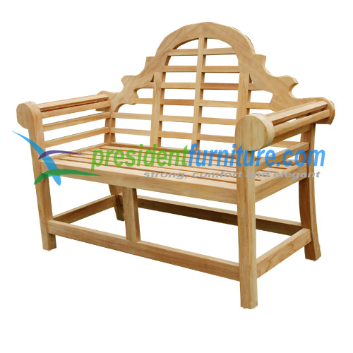 teak garden furniture Marlboro Bench 120
