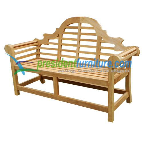 teak garden furniture Marlboro Bench 150