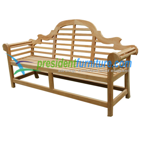 teak garden furniture Marlboro Bench 180