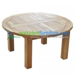 teak garden furniture Mini Round Table Diameter 80
