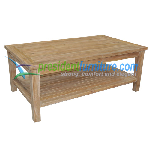 teak garden furniture Recta Coffee Table Tundan