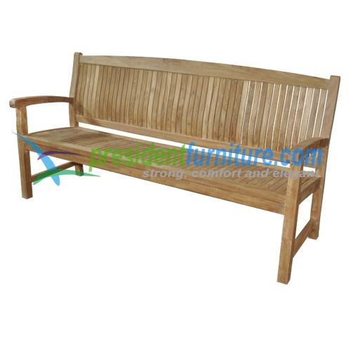 teak garden furniture Trinidad Bench 180