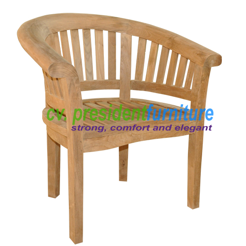 teak garden furniture Great Peanut Chair