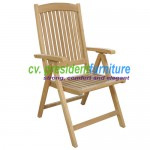 teak garden furniture Straight Dorset ( Solid Brass )