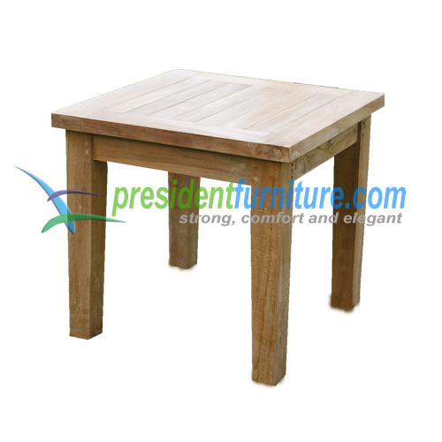 teak garden furniture Briana Side Table