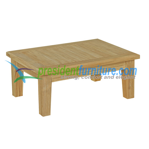 teak garden furniture Deep Seat Ottoman