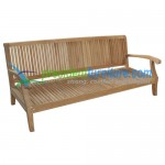 teak garden furniture Royal Deep Seating Sofa