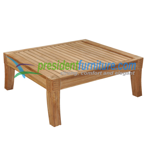 teak garden furniture Royal Ottoman