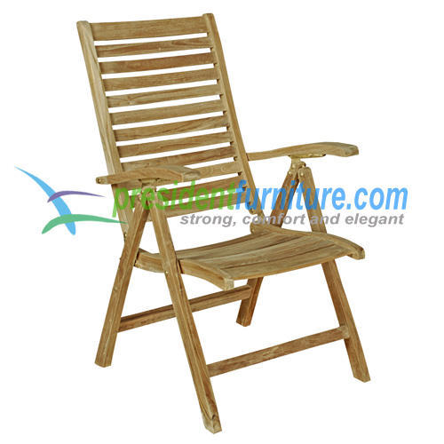 teak garden furniture Dorset Horizontal Slat
