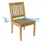 teak garden furniture Kingstone Side Chair
