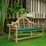 teak garden furniture Cushion For Malrboro Bench