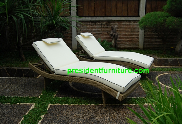 teak garden furniture Cushion For S Lounger