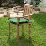 teak garden furniture Cushion For Stacking Chair