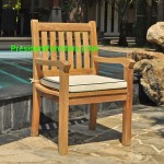 teak garden furniture Cushion Kingstone Arm Chair